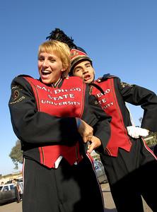 SDSU Marching Aztecs: 20070929