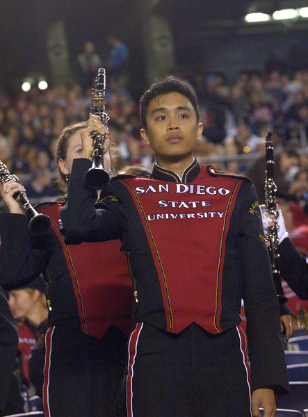 SDSU Marching Aztecs: 20070929