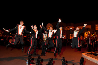 SDSU Marching Aztecs at the Scripps Ranch Field Tournament