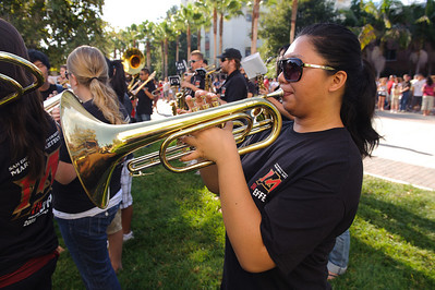 San Diego State University Marching Aztecs