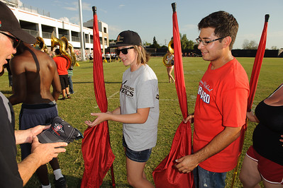San Diego State University Marching Aztecs Band Camp 2012