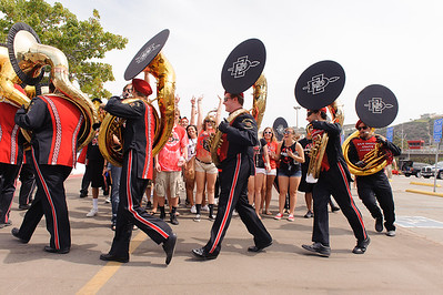 San Diego State University Marching Aztecs Band vs Army
