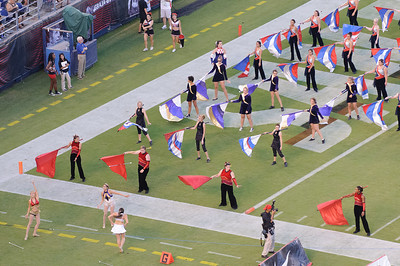 San Diego State University Marching Aztecs Band vs North Dakota State University