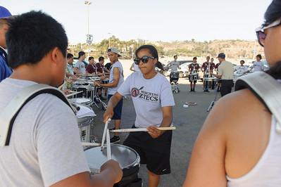 San Diego State University Marching Aztecs Band vs North Dakota State University