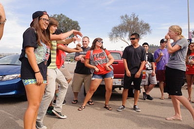 San Diego State University Marching Aztecs Drumline and Dance Team