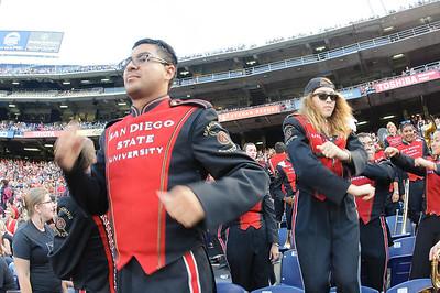 SDSU Marching Aztecs vs University of Hawaii