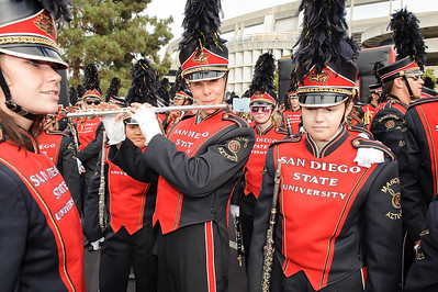 SDSU Marching Aztecs vs University of Hawaii
