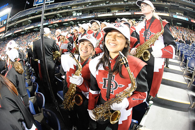 The San Diego State University Marching Aztecs