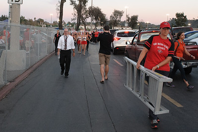 20161008 Marching Aztecs vs UNLV