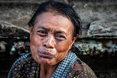 beggar at Angkor Wat Cambodia
