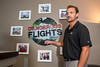 Cory Bengtzen, president of CB Aviation, talks about his experiences while starring in the Discovery Channel program Dangerous Flights that follows his adventures of delivering planes all over the world at the Ogden Airport in Ogden, on May 15, 2015.