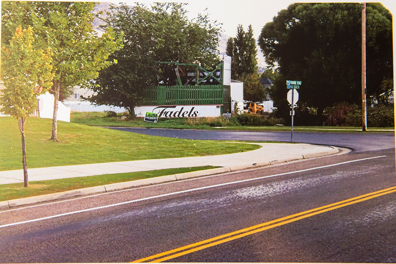 A photo provided by George Fadel shows the Fadels sign as it appeared in September 2014 and was subsequently destroyed by Farmington City in April of 2015; photo taken on July 11, 2016 in Bountiful.