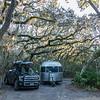 Campsite #40, Little Talbot Island State Park.  Florida