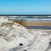 Atlantic Ocean viewed from Little Talbot Island State Park east of Jacksonville, FL.