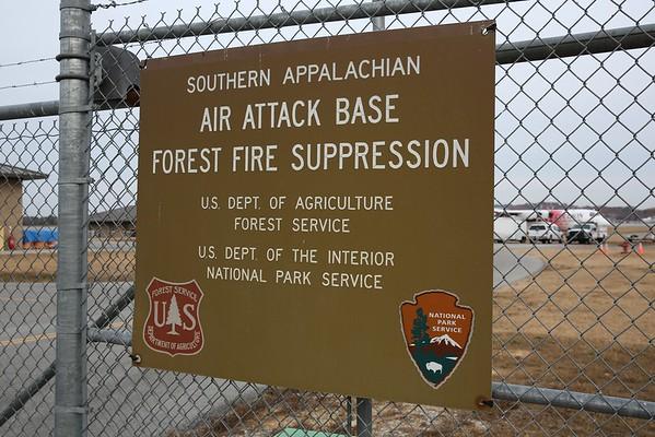 USFS/ NPS Southern Appalachian Air Attack Base, Chattanooga, 27Nov16