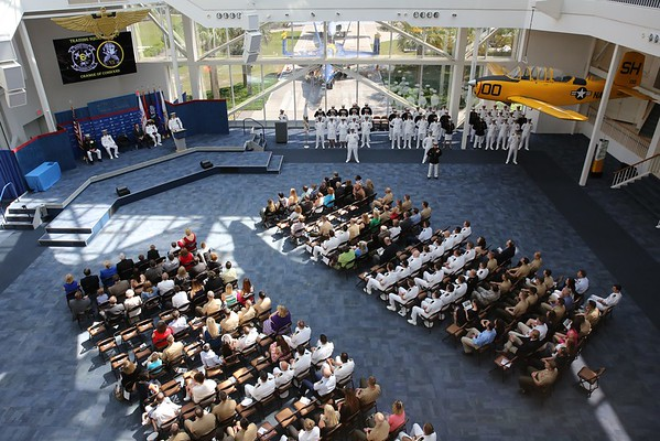 """VT-6 """"Shooters"""" Change of Command, NAS Pensacola, 29Apr16"""