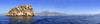 Benidorm panoramic view from island