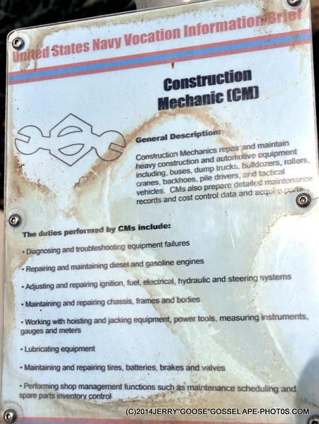 CONSTRUCTION MECHANIC (CM)