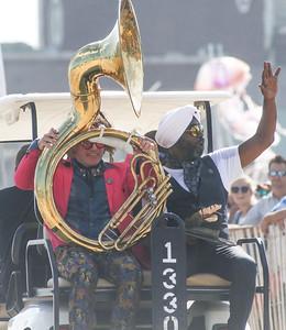 Preservation Hall Jaz Band Sea Hear Now festival Day 1 in Asbury Park, NJ on 9/29/18. [DANIELLA HEMINGHAUS | STAR NEWS GROUP]