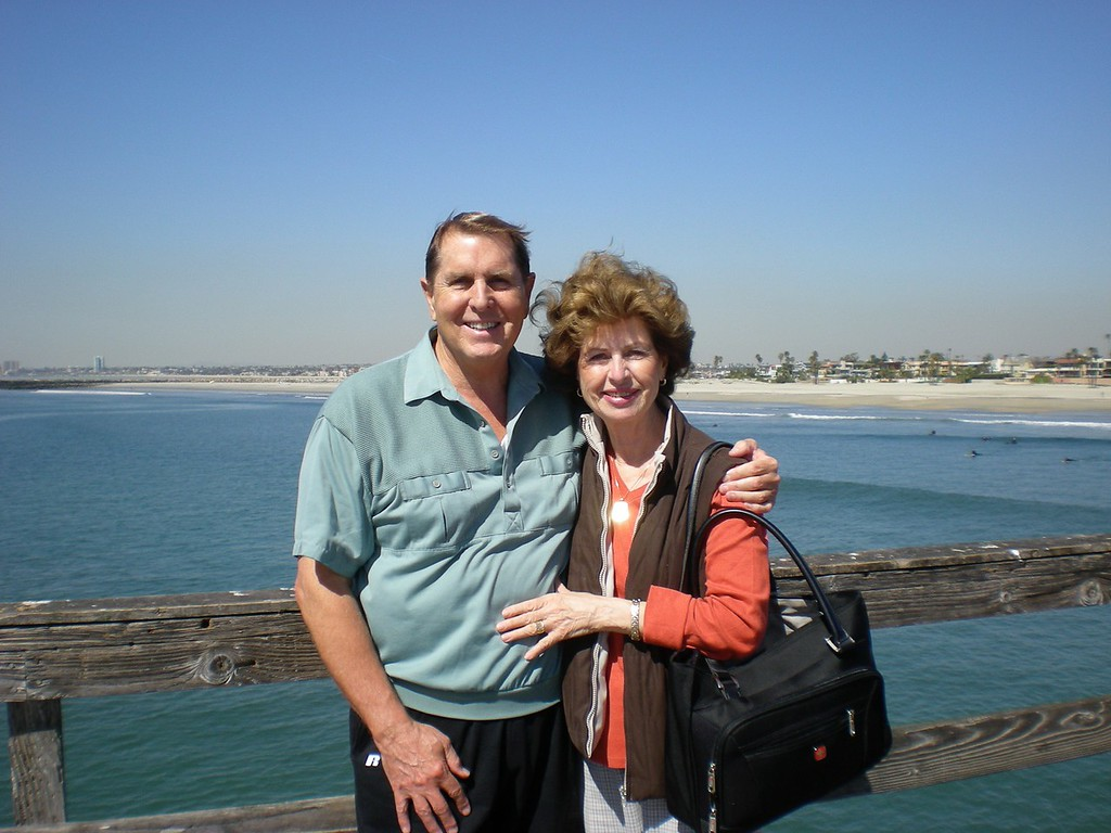 Breakfast at Seal Beach with Betty