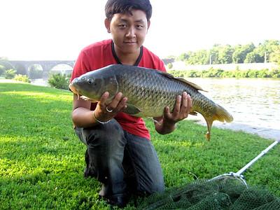 July 12th, 2011 - Common Carp - Schuylkill River