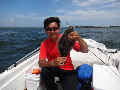 July 14th, 2013 - Summer Flounder - Barnegat Bay
