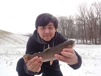 December 31st, 2012 - Rainbow Trout - Core Creek