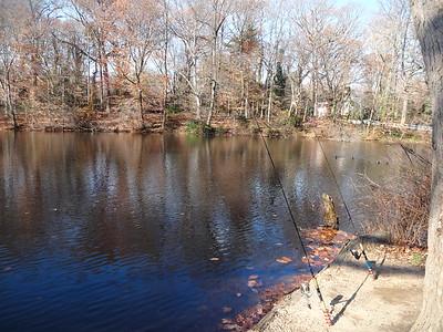 Fishing at the Hopkins Pond (GALLERY THUMBNAIL)