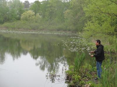 May 14th, 2014 - Scenery - Dad Fishing at Linden Lake (GALLERY THUMBNAIL)