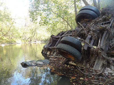 Truck in the Patapsco River (GALLERY THUMBNAIL)