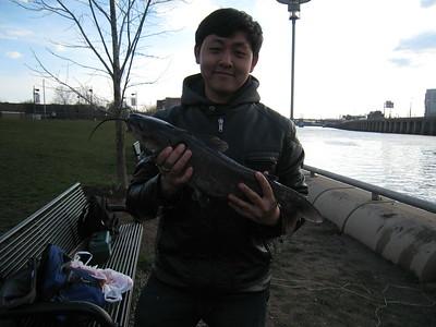 April 4th, 2011 - Channel Catfish - Schuylkill River