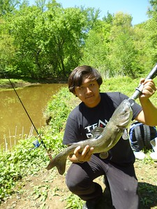 May 1st, 2012 - Channel Catfish - Upper Cooper River