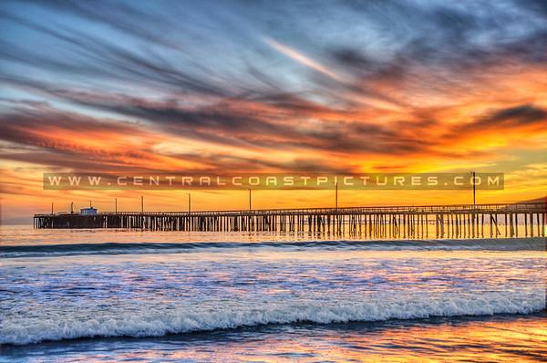 avila beach pier sunset_7522