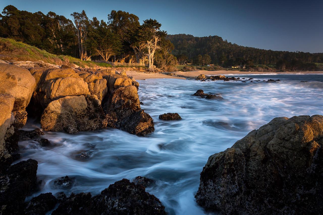 Monastery Beach Cypress Sea
