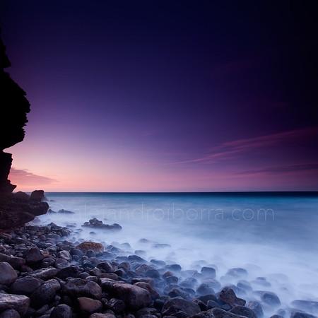 FOGGY SEA IN CAP D'ES FALCO