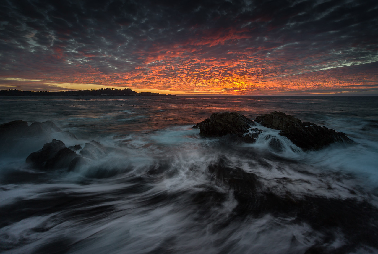 Dappled Sunset