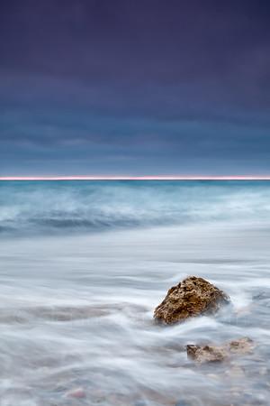 AGAINST THE SEA