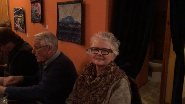 A friends birthday party at Oddfellas--wife Ann stayed home convalescing from foot surgery. She was missed.