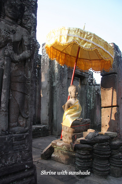 Angkor Thom, a short distance from Angkor Wat Temple, was the last capital of the Khmer Empire, was a fortified cit enclosing residences of priest, officials of the palace and military, as well as buildings for administering the kingdom. Feb 200