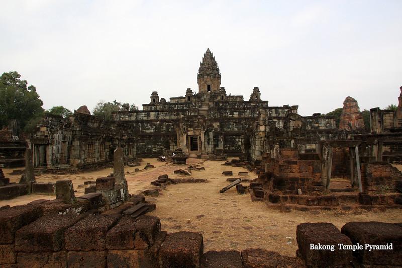 Bakong Temple and Moat, Angkor Wat, 2009