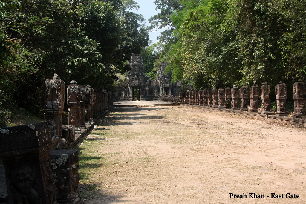 Preah Khan Temple, Located northeast of Angkor Thom, Feb 2009
