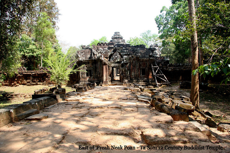Ta Som Temple, Angkor, Cambodia Feb 2009