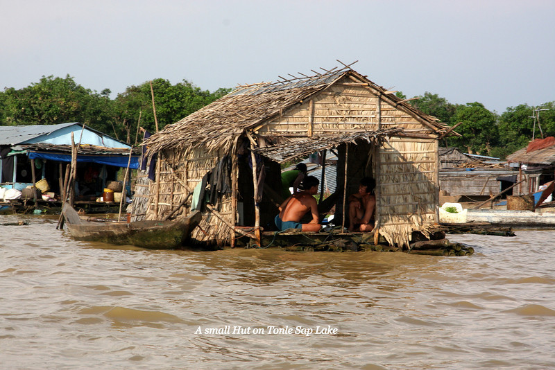 Tonle Sap Lake near Siem Reap, Cambodia