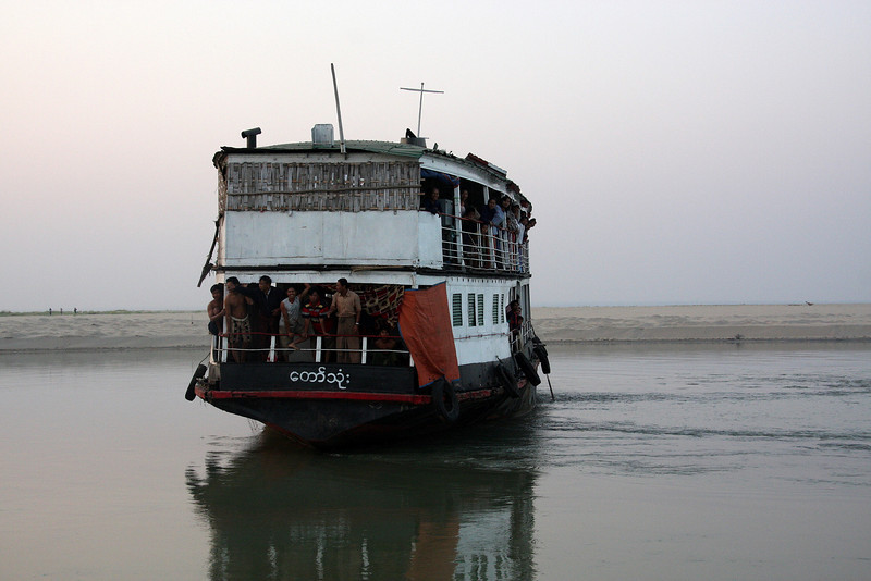 The $5.00, 24hr ride (we were  stuck overnight on a sand bar) from Mandalay to Bagan was  very special,  great fun, great people. March 2009