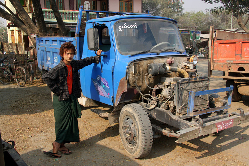 Thazi to Inle Lake: Our pick-up truck ride from Thazi to Inle Lake was dusty but great fun, good stops on the way too. March 2009