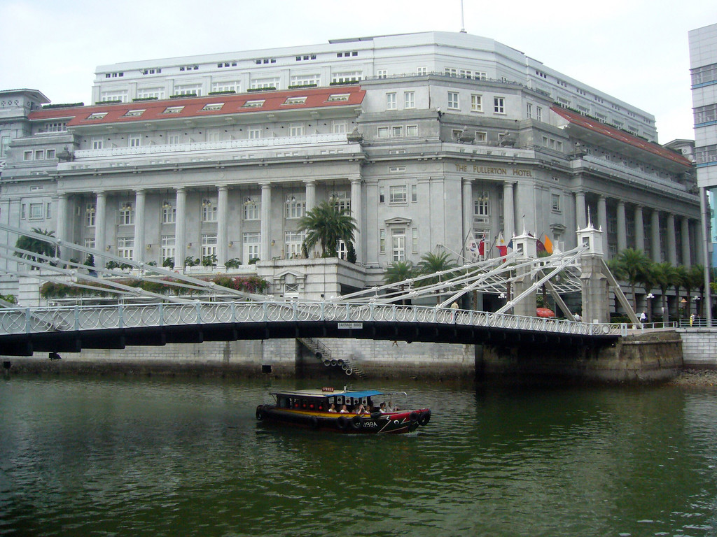 Fullerton Hotel, Singapore 2007