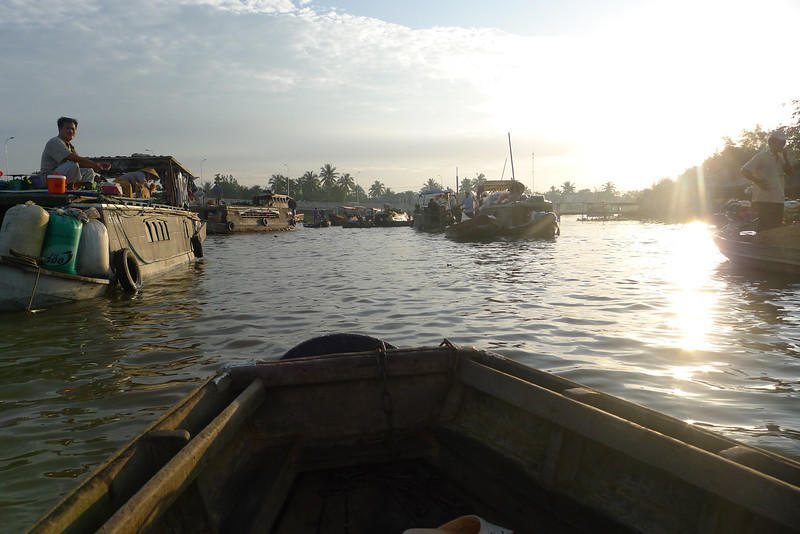 side canals from Phong Dien Floating  Market Nov 2013