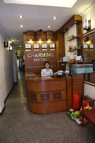 HaNoi Charmin Hotel, very convenient in old town, basic but very good, lovely and very helpful desk staff. Nov 2013