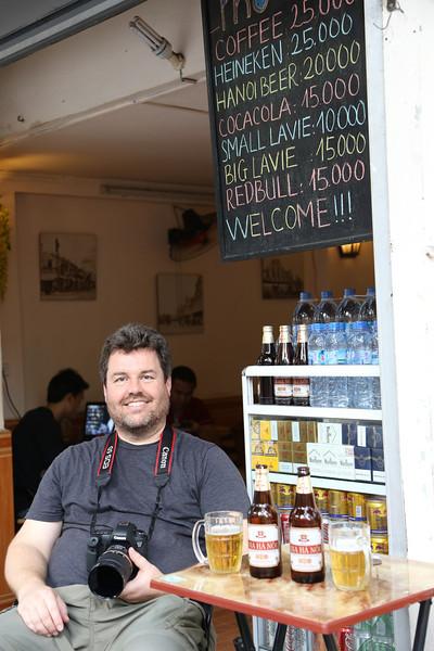 HaNoi, beer time. Nov 2013