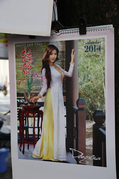 HaNoi calendars. Nov 2013